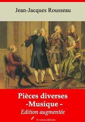 Pièces diverses (musique): Nouvelle édition augmentée