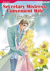 SECRETARY MISTRESS, CONVENIENT WIFE: Mills & Boon Comics