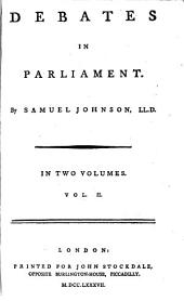 Debates in Parliament: Volume 13