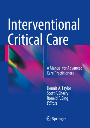 Interventional Critical Care