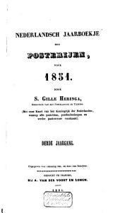 Nederlandsch jaarboekje der Posterijen voor ....: Volume 1