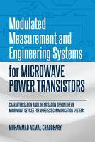 Modulated Measurement and Engineering Systems for Microwave Power Transistors PDF