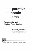 Comparative Economic Systems PDF