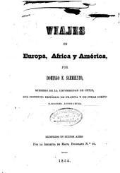 Viajes en Europa, Africa y America