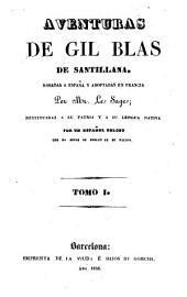 Aventuras de Gil Blas de Santillana: Aventures de Gil Blas de Santillana