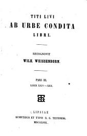 Ab urbe condita libri: Τόμοι 3-4