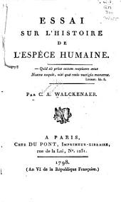 Essai sur l'histoire de l'espèce humaine