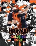 Haikyuu Coloring Book