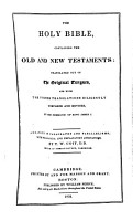 The holy Bible  arranged in paragraphs and parallelisms  with annotations  by T W  Coit PDF