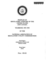 Profiles of Regulatory Agencies of the United States and Canada