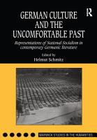 German Culture and the Uncomfortable Past PDF