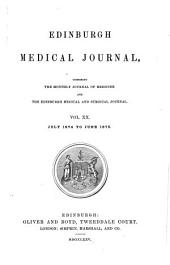 Edinburgh Medical Journal: Volumes 20-21