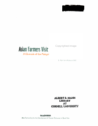 Asian Farmers Visit Malaysia PDF