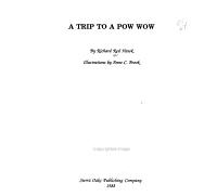 A Trip to a Pow Wow PDF