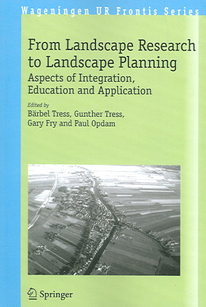 From Landscape Research to Landscape Planning PDF