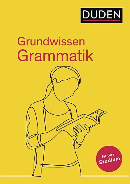 Grundwissen Grammatik   Fit f  rs Studium