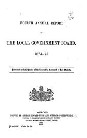 Annual Report of the Local Government Board ...: Volume 4
