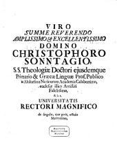 Historiae Ecclesiasticae ... A Christo Nato Seculi Selecta Capita: Praemissa Est Eiusdem De Scriptoribus Historiæ Ecclesisaticæ [!] Recentioribus Dissertatio. 1