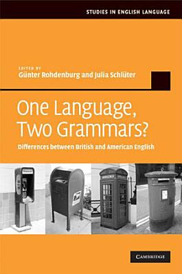 One Language  Two Grammars  PDF