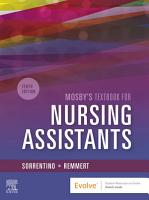 Mosby s Textbook for Nursing Assistants   E Book PDF