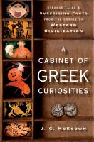 A Cabinet of Greek Curiosities PDF