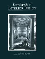 Encyclopedia of Interior Design PDF