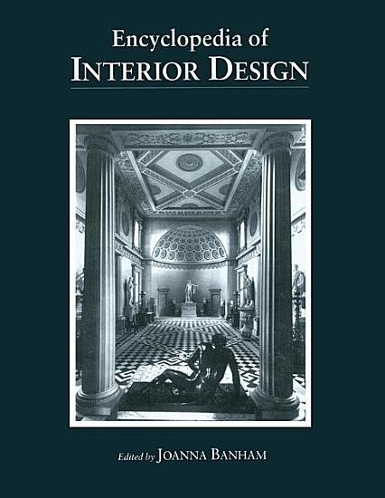 Encyclopedia of Interior Design PDF
