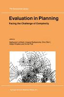 Evaluation in Planning PDF