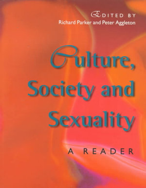 Culture  Society and Sexuality PDF