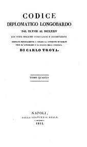 Storia D'Italia del Medio-Evo E Codice Diplomatico Longobardo...
