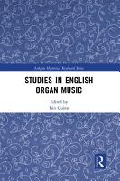 Studies in English Organ Music PDF