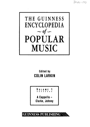 The Guinness Encyclopedia of Popular Music