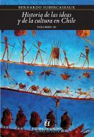 Historia de las ideas y de la cultura en Chile 3 PDF