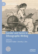Gender and Genre in Ethnographic Writing