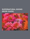 Supernatural Books Book PDF