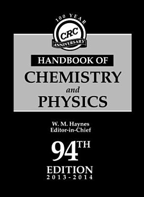 CRC Handbook of Chemistry and Physics  94th Edition PDF