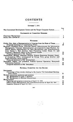 The Centralized Development Center and the Target Computer System PDF