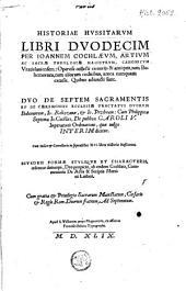 Historiae Hussitarum libri duodecim
