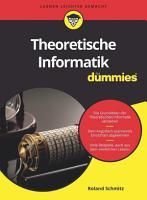 Theoretische Informatik f  r Dummies PDF