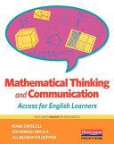 Mathematical Thinking And Communication Book PDF