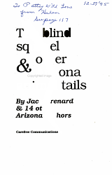The Blind Squirrel and Other Arizona Animal Stories PDF
