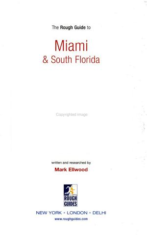 The Rough Guide to Miami   South Florida