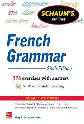 Schaum s Outline of French Grammar