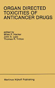 Organ Directed Toxicities of Anticancer Drugs PDF