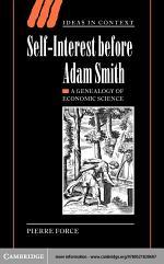 Self-Interest before Adam Smith