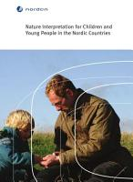 Nature Interpretation for Children and Young People in the Nordic Countries PDF