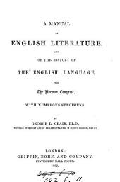 A manual of English literature and of the history of the English language [abridged from Sketches of the history of literature and learning in England].