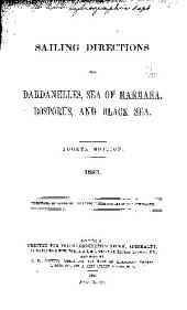 Sailing Directions for the Dardanelles, Sea of Marmara, Bosporus, and Black Sea