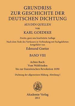 Achtes Buch  Vom Weltfrieden bis zur franz  sischen Revolution 1830 PDF