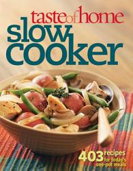 Taste Of Home Slow Cooker Book PDF